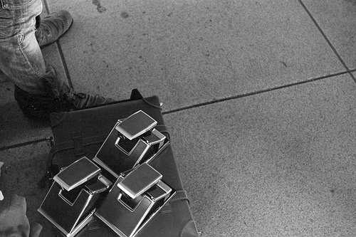 アラジンという魔法の箱 | Polaroid SX-70