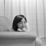 Summilx 35mm/f1.4(開放)で妻を撮る