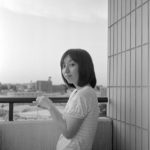 Elmar 35mm/f3.5で妻を撮る