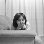 Elmar 35mm/f3.5(開放)で妻を撮る