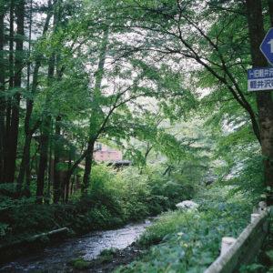 Rolleiflex で軽井沢を撮る