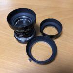 Canon 35mm f2.0 LTM フードの話